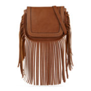 Call It Spring™ Mocambo Fringe Crossbody Bag
