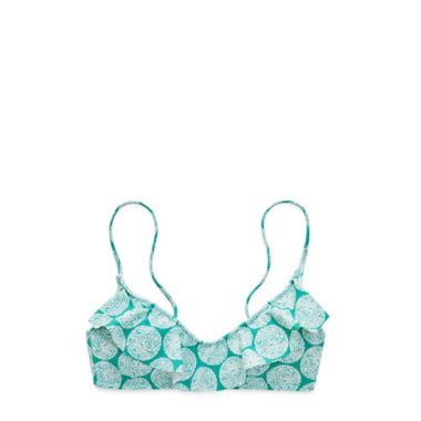 jcpenney.com | Stylus Ruffled Bra Swim Top