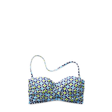 jcpenney.com | Stylus™ Twist Bandeau Swim Top