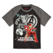 Marvel Iron Man Raglan Tee - Boys 8-20