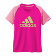 adidas® climalite® Colorblock Tee - Girls 7-16