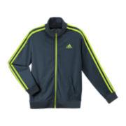 adidas® Tricot-Knit Track Jacket - Boys 8-20