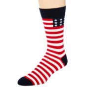 Reckless®  Novelty Print Crew Socks