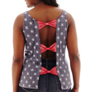 Arizona Bow-Back Star Tank Top - Plus