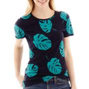 Stylus™ Short-Sleeve Slub Knit Graphic T-Shirt - Tall
