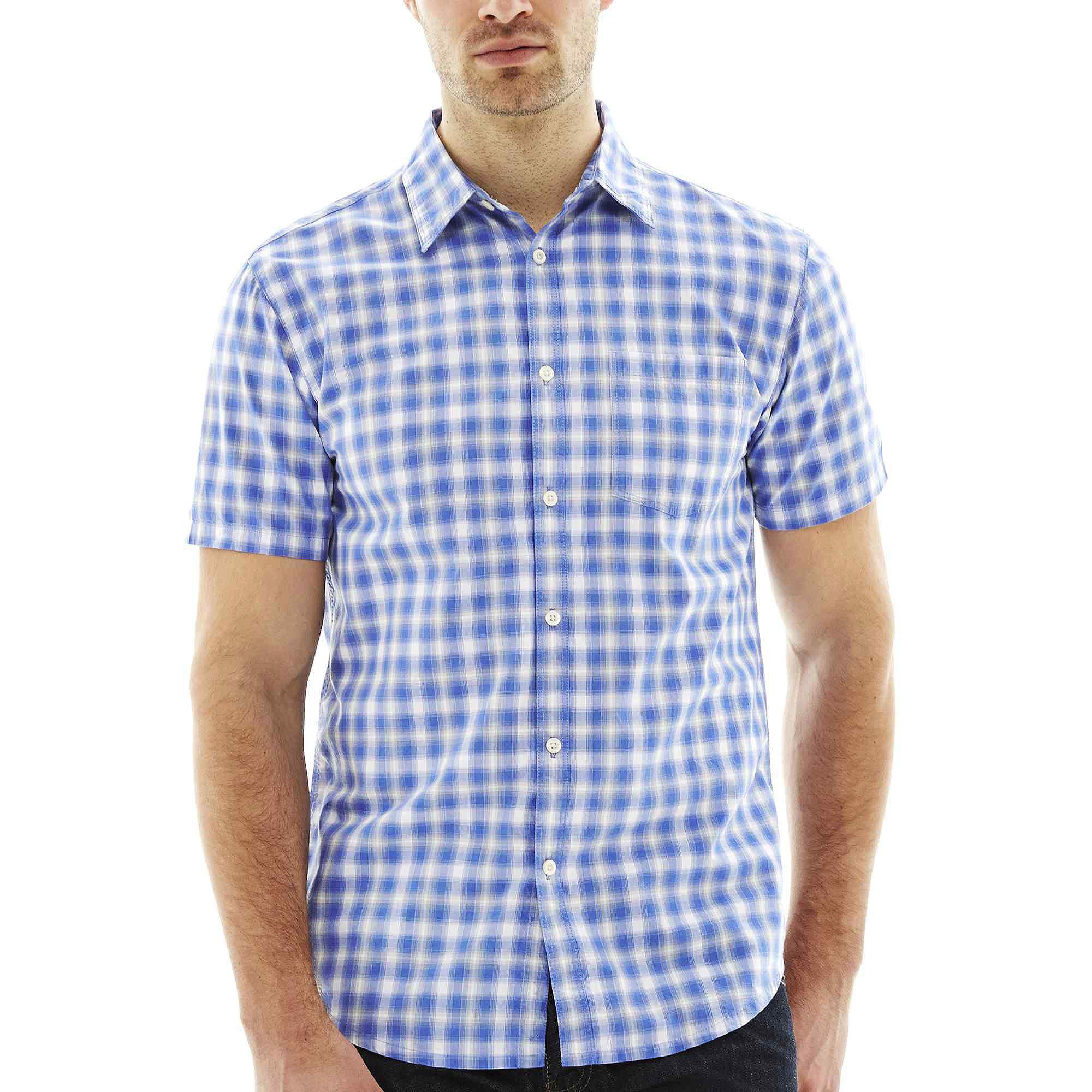 Upc 056945070257 jf j ferrar short sleeve woven shirt for J ferrar military shirt