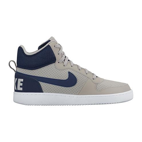 Nike® Court Bourough Mid Men's Basketball Shoes