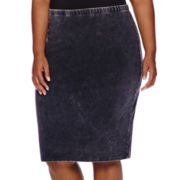 Decree® Midi Bodycon Skirt - Juniors Plus