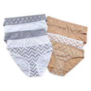 Total Girl® 9-pk. Cotton Bikini Panties - Girls