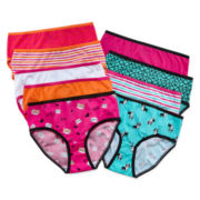 Total Girl® 9-pk. Cat Dog Cotton Briefs - Girls