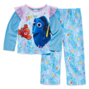 Finding Dory 2-pc. Sea Ya Pajama Set - Toddler Girls 2t-5t