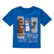 Short-Sleeve Secret Life Of Pets Tee - Toddler Boys 2t-5t