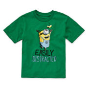 Short-Sleeve Minion Tee - Toddler Boys 2t-5t