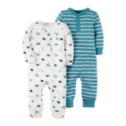 Carter's® 2-pk. Coveralls - Baby Boys newborn-24m