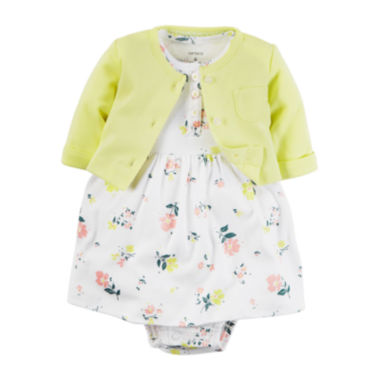 jcpenney.com | Carter's® 2-pc. Floral Dress Set - Baby Girls newborn-24m