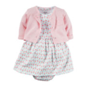 Carter's® 2-pc. Dress Set - Baby Girls newborn-24m