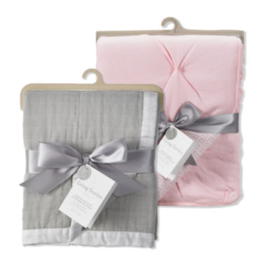 jcpenney.com | Muslin Textured Blanket and Crib Comforter Set