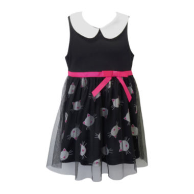 jcpenney.com | Lilt Sleeveless Kitty-Print Dress - Toddler Girls 2t-4t