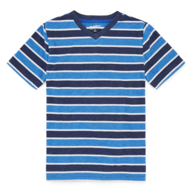 jcpenney.com | Arizona Short-Sleeve Striped Tee - Boys 8-20 and Husky