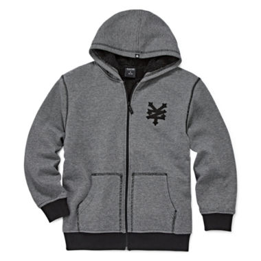 jcpenney.com | Zoo York® Zip-Front Fleece Hoodie - Boys 8-20