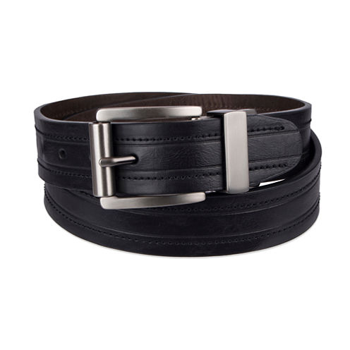 Arizona 38 Black Reversible Cross Solid Belt