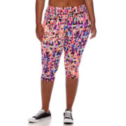 City Streets® Performance Cropped Pants - Juniors Plus