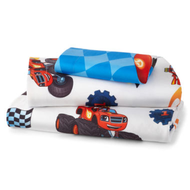 jcpenney.com | Nickelodeon™ Blaze Fast Track Twin Sheet Set