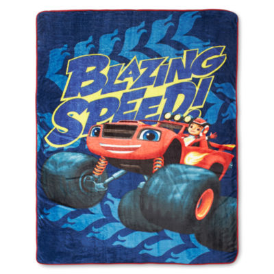 Nickelodeon™ Blaze Fast Track Fleece Blanket