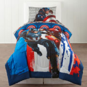 Marvel® Captain America Civil War Twin Comforter & Accessories