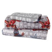 Marvel® Captain America Civil War Twin Sheet Set
