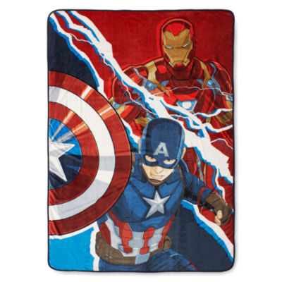 Marvel® Captain America Civil War Fleece Blanket