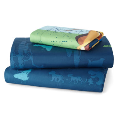 jcpenney.com | Disney Lion Guard All-For-One Twin Sheet Set