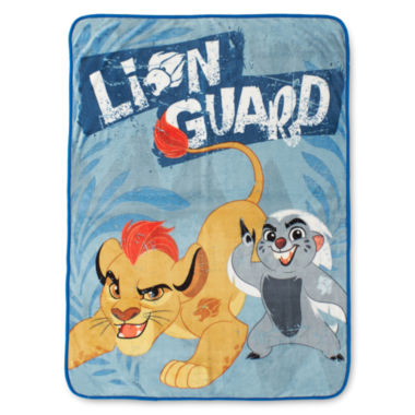 jcpenney.com | Disney Lion Guard All-For-One Silk Touch Throw