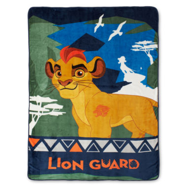 jcpenney.com | Disney Lion Guard All-For-One Fleece Blanket