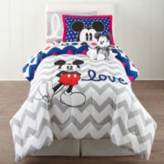 Disney Collection Mickey Mouse Comforter Set & Accessories