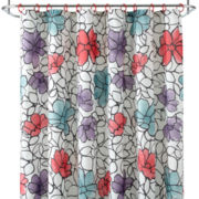 Home Expressions™ Daisy Shower Curtain Set