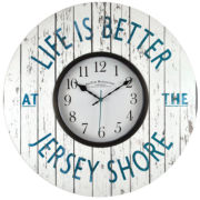 FirsTime® Jersey Shore Wall Clock