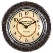 FirsTime® Gourmet Café Wall Clock