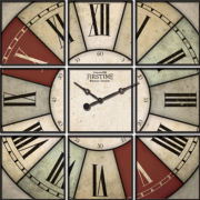 FirsTime® Hues Studio Wall Clock
