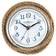 FirsTime® Clear Rope Wall Clock