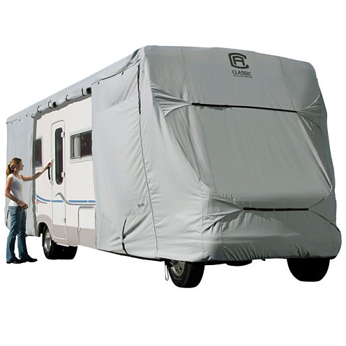 Classic Accessories 80-129-161001-00 PermaPro Class C RV Cover, Model 3
