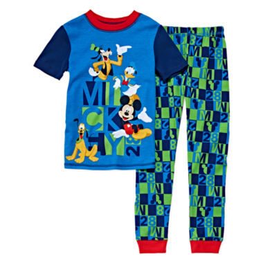 jcpenney.com | Disney Collection 2-Pc. Short-Sleeve Cotton Pajama Set