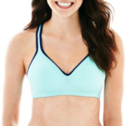 Flirtitude® Microfiber Yoga Sports Bra