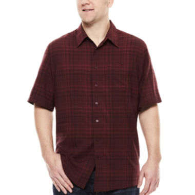 jcpenney.com | Haggar® Short-Sleeve Woven Shirt - Big & Tall