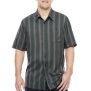Haggar® Short-Sleeve Woven Shirt - Big & Tall