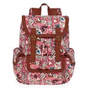 Olsenboye® Heart and Paisley Print Cargo Backpack