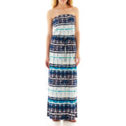 a.n.a® Sleeveless Drawstring Maxi Dress