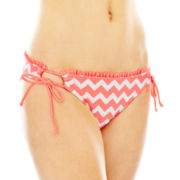 Arizona Chevron Print Hipster Swim Bottoms