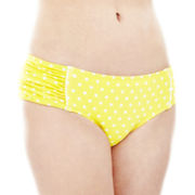 Arizona Polka Dot Hipster Swim Bottoms - Juniors