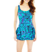 Azul by Maxine of Hollywood® Princess Seam Swimdress